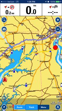 Delaware City to Worton Creek