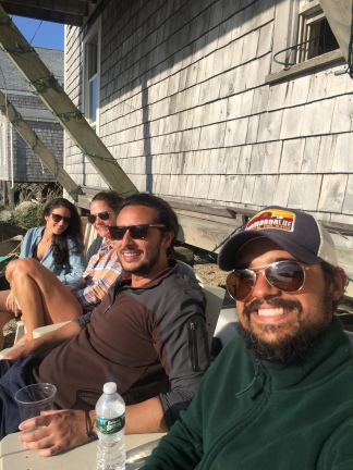 1. Monhegan with Friends